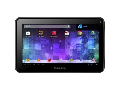 Visual Land Prestige 7G with Pro Folio Bundle (Magenta) - 8GB Android 4.1 Google Play
