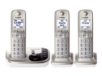 Panasonic Expandable Digital Cordless Answering System w/ 3 Handsets - KX-TGD223N