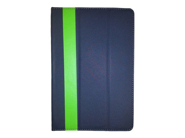 "Digital Energy 10"" Universal Tablet Case - Grey/Lime"
