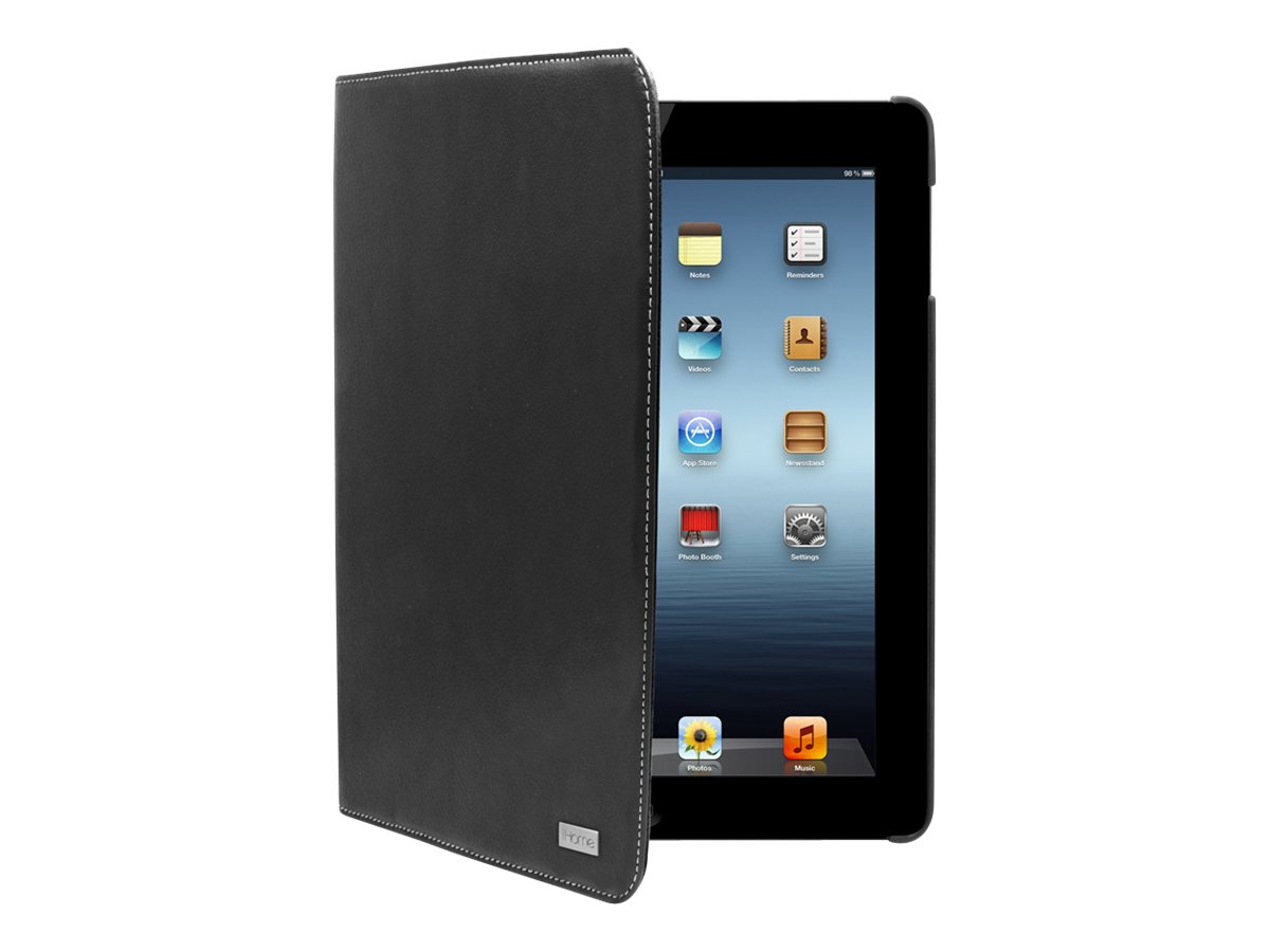 iHOME iPad® Swivel Folio Black Case