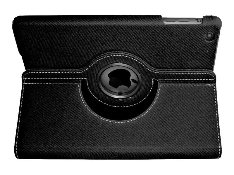 iHOME iPad® Mini Case Swivel Folio Black