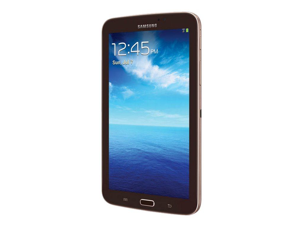 Samsung 7 in. Galaxy Tab 3, 8GB SM-T210RGNYXAR Gold/Brown