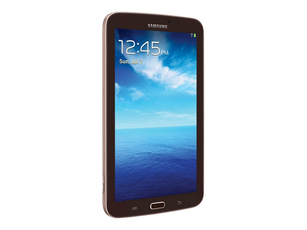 Samsung 7 in. Galaxy Tab 3, 8GB SM-T210RGNYXAR Gold/Brown