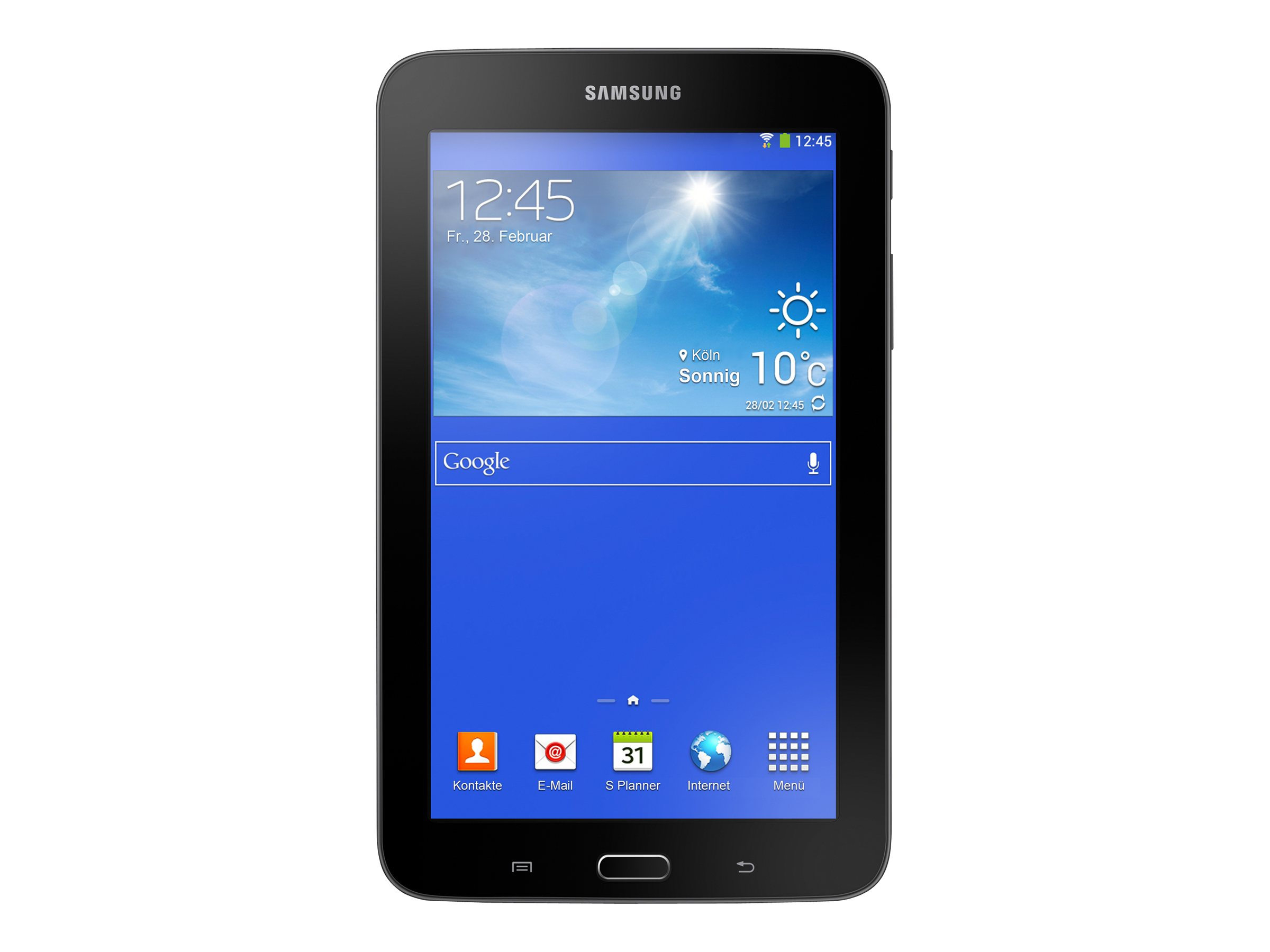 Samsung 7 in. Galaxy Tab®3 Lite, 8GB - SM-T110NYKAXAR, Dark Gray