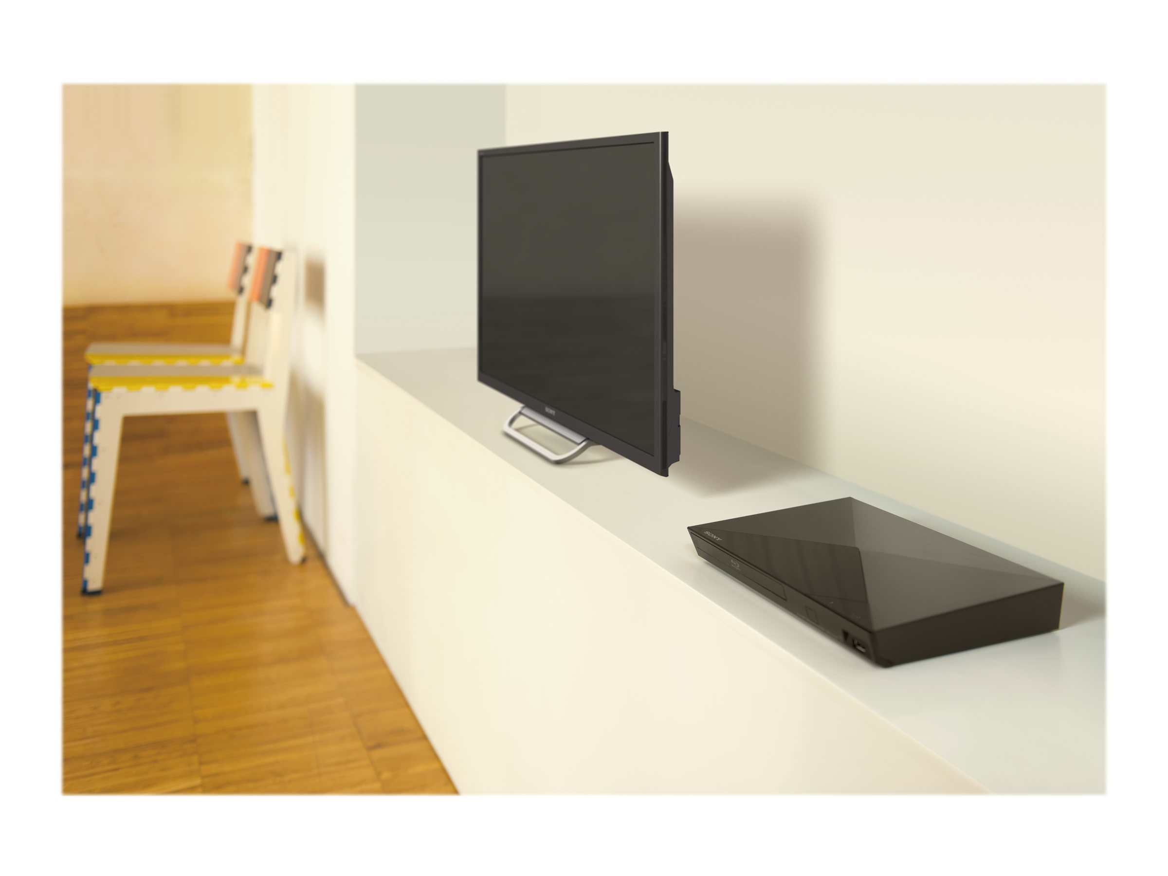 Sony Blu-ray Disc™ Player with Streaming Services - BDP-S1200