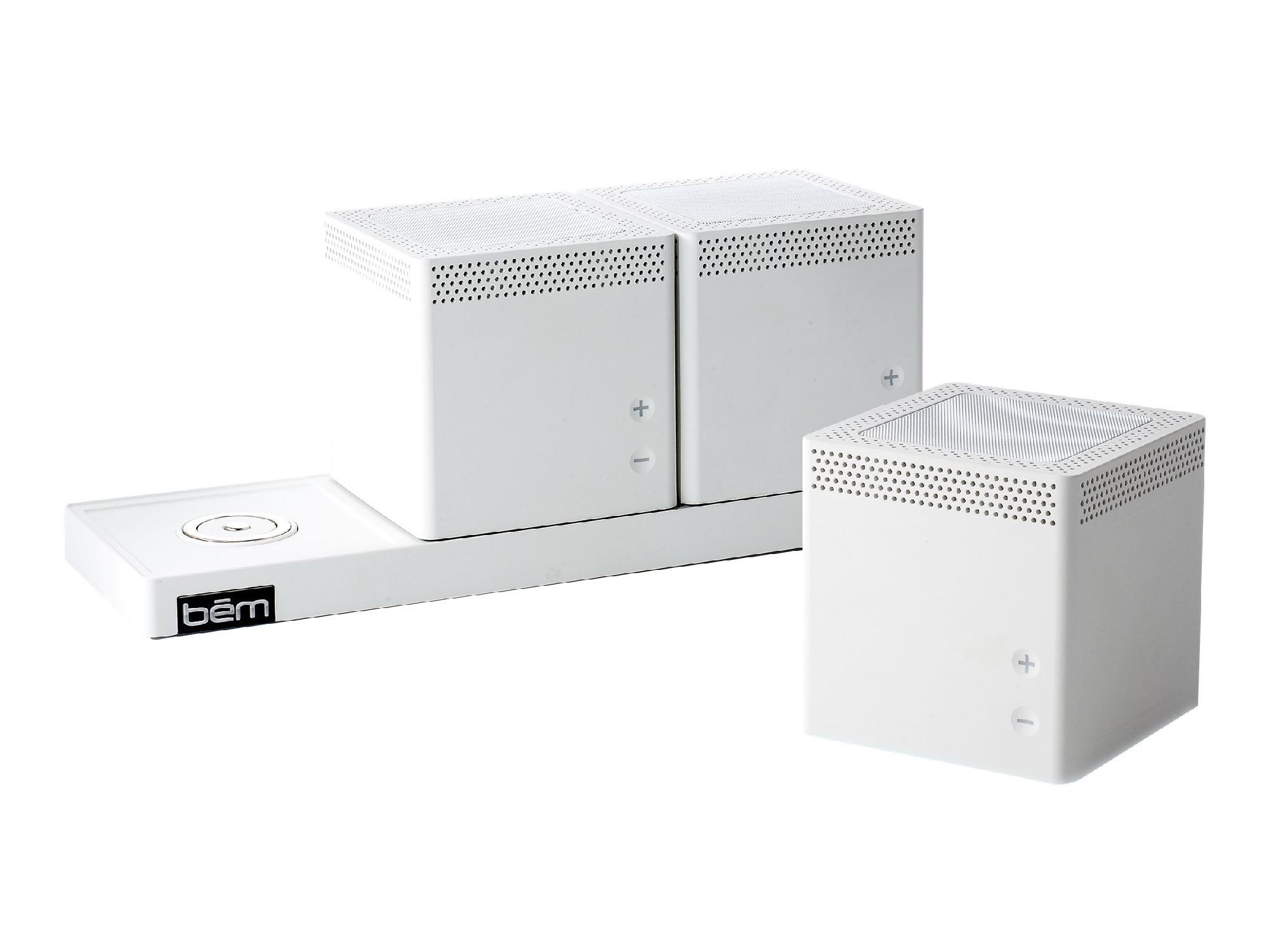 BEM WIRELESS Trio Bluetooth Speaker - White