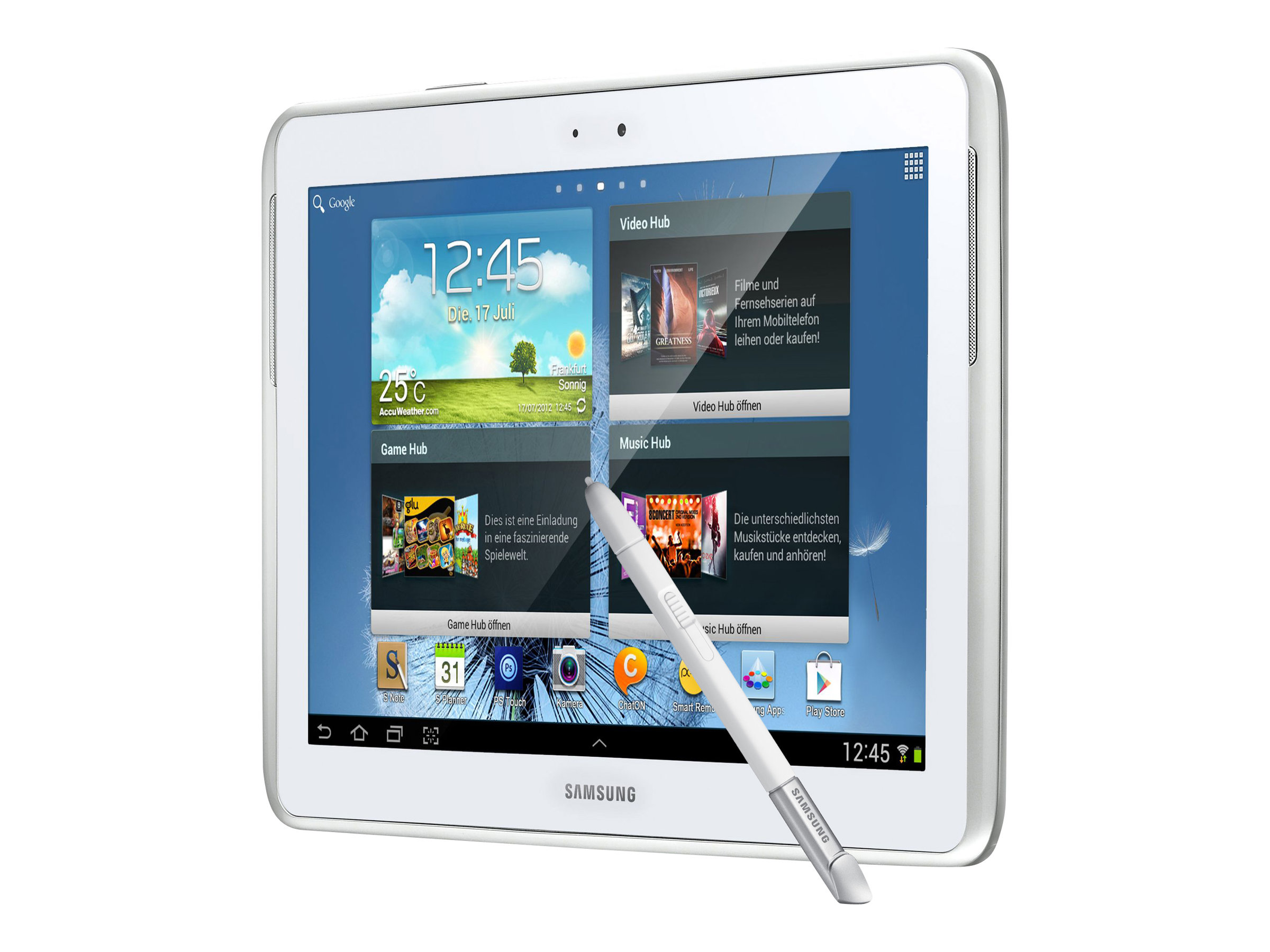 Samsung Galaxy Note 10.1 Tablet 2014 Edition SM-P6000ZWVXAR White 32GB