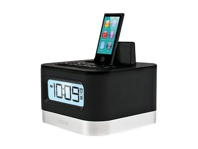iHOME Stereo FM Clock Radio for iPhone & iPod iPL10