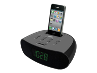 Jensen iPod/iPhone Docking Clock Radio with Dual Alarm