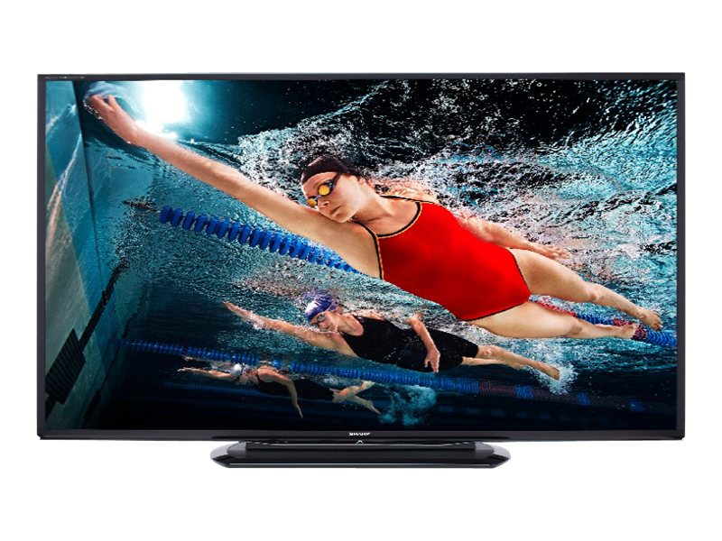 "Sharp 60"" Class Aquos 1080p 240Hz 3D LED Smart HDTV - LC60LE757U"