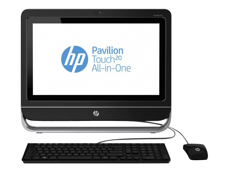 "HP Pavilion TouchSmart 1.40GHz Processor All-In-One PC 20-f230 w/ 20"" Display (Energy Star)"