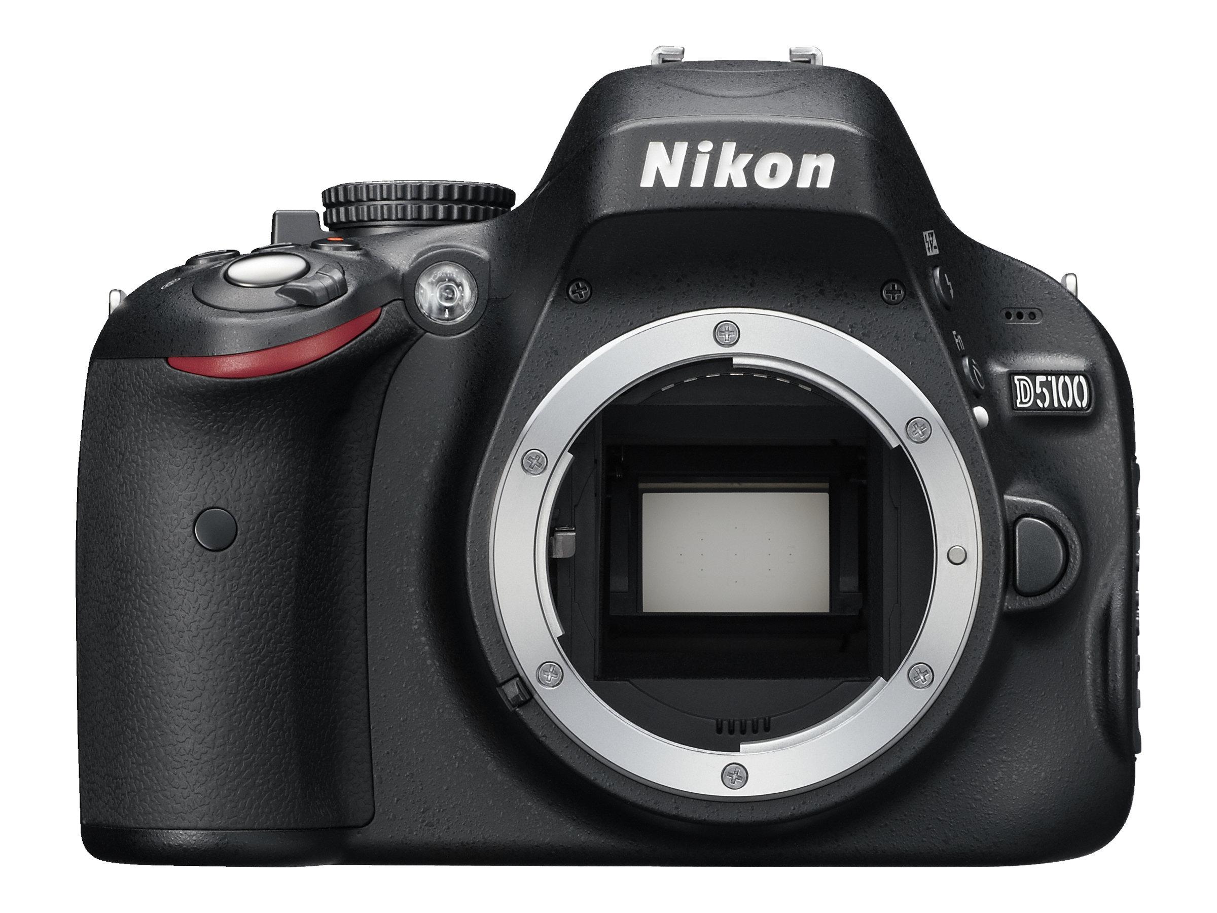 Nikon 16.2-Megapixel D5100 Digital SLR Camera with 18-55mm Lens