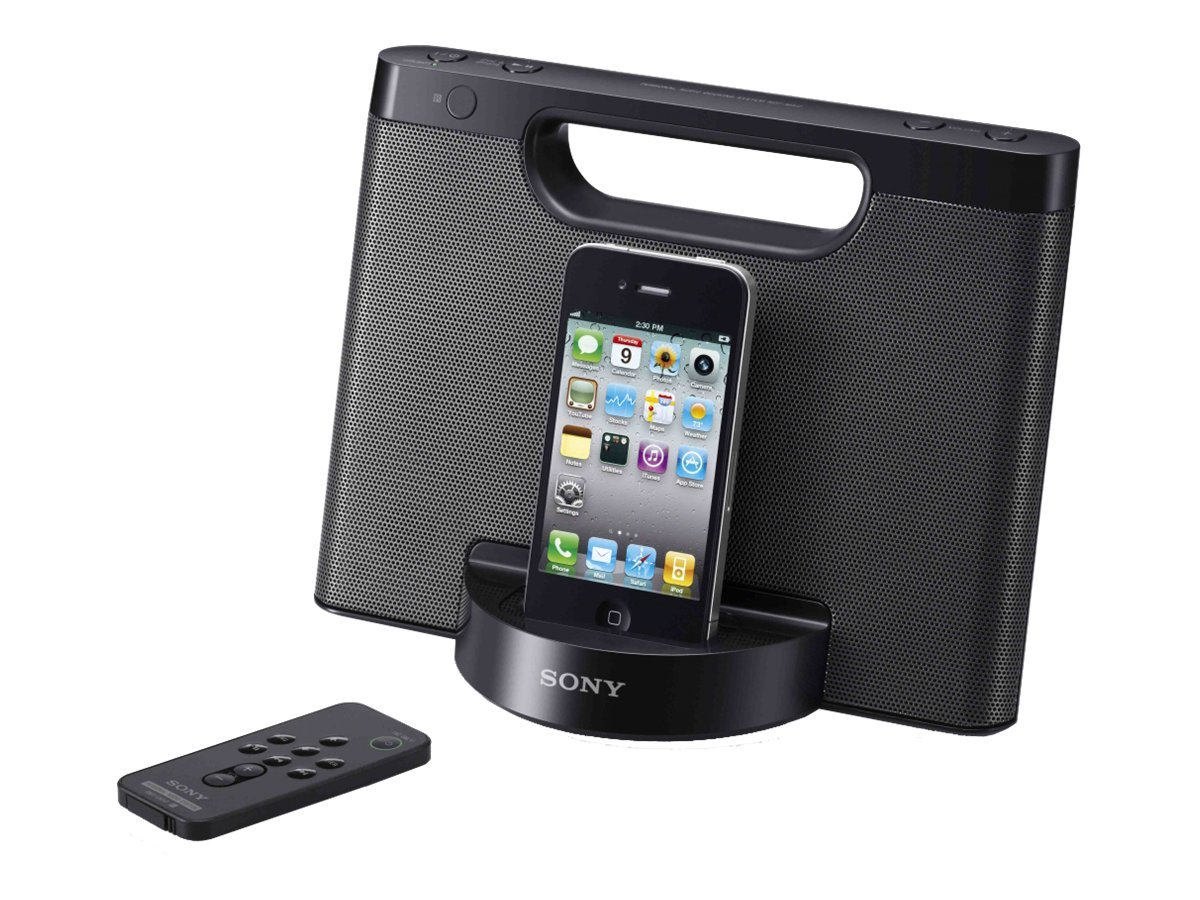Sony Speaker Dock for iPod® and iPhone® RDP-M5IPBLK