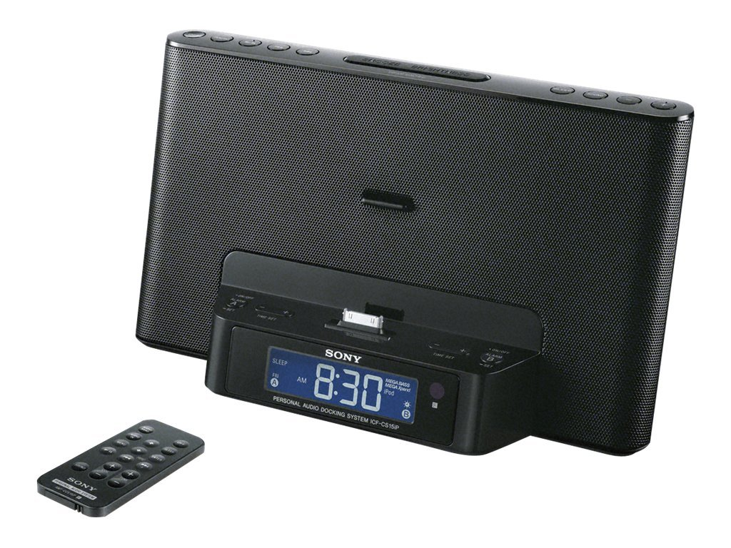Sony Speaker Dock for iPod® and iPhone® ICF-CS15IPBLK