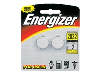 Energizer Watch/Electronic Batteries, 3V, 2032, 2 batteries