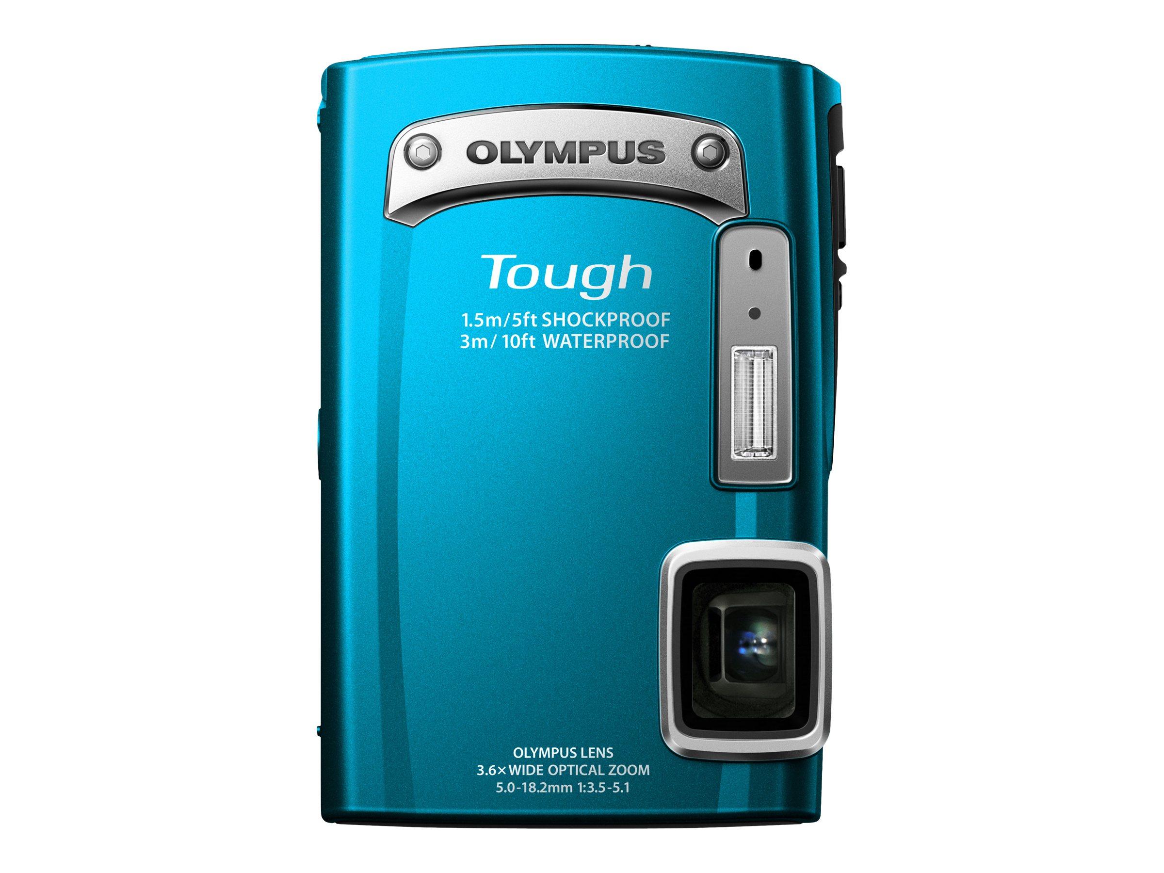 Olympus TG-320 Digital Camera - Blue