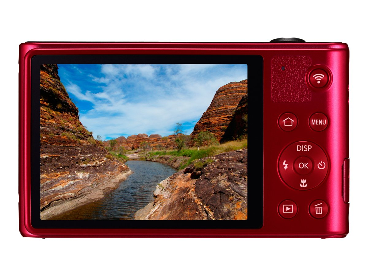 Samsung 16.2MP WB30F Smart Camera - Red