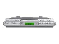 Sony Under Cabinet AM/FM CD Clock Radio