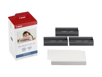 Canon Color Ink/4x8 Photo Paper Bundle for Select Selphy Canon Photo Printers