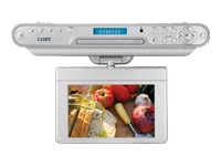 Under The Cabinet KTFDVD7093 7-inch TFT TV with DVD Player