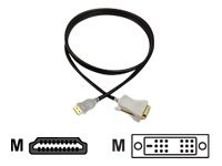 1 meter UltraAV® HDMI To DVI-D Cable - B042C-003B