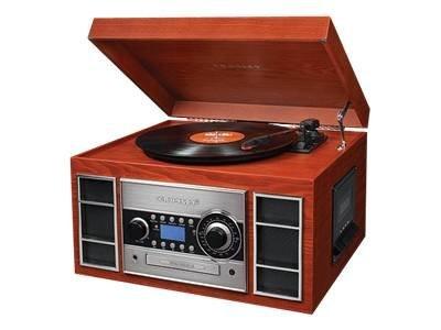 Crosley Radio Memory Master II CD & Cassette Recorder - Paprika