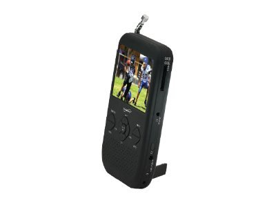 "Supersonic SC-491 7"" Portable TV With DVD Player, ATSC Tuner,  USB, SD Card Reader & Rechargeable Battery"