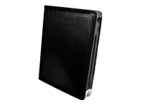 "Pandigital Black Croc Portfolio Case for 7"" eReader"