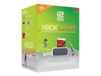 Microsoft Xbox Live 12-Month Gold Starter Kit CXC-00008