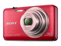 Sony Cyber-shot® Digital Camera WX9- Red