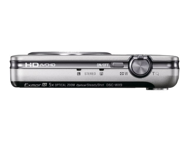 Sony Cyber-shot® Digital Camera WX9- Silver
