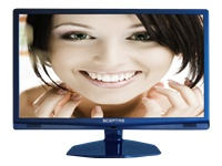 "Sceptre Sceptre E240LC-FHD 24"" Blue 1080P LED HDTV 5ms, 2x HDMI, 14,000:1 Dynamic Contrast Ratio, 250cd/m2 Brightness,  USB"