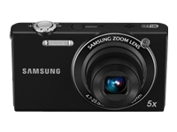 Samsung SH100 14.2 Megapixel Wi-Fi Enabled Digital Camera- Black