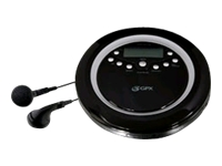 GPX Portable CD/MP3-Disc Player with ID3 Tag