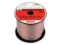 RCA Speaker Wire 100 ft. 16-gauge