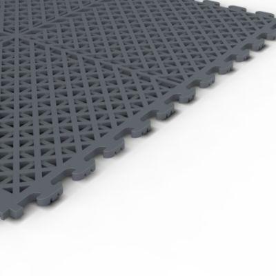 Craftsman Gray PVC Multi-Purpose Ventilated Garage Flooring