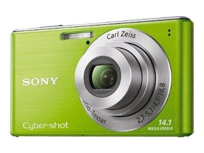 Sony Cyber-shot™ DSC W-Series 14.1 Megapixel Digital Camera- Green