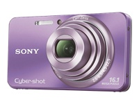 Sony Cyber-shot® Digital Camera W570- Violet