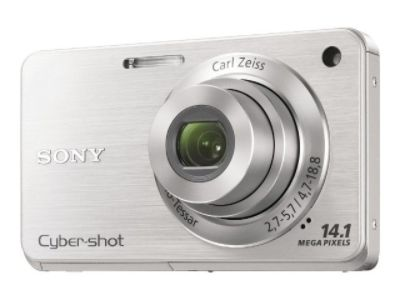 Sony Cyber-shot DSC-W560 - Digital camera - compact - 14.1 MP - 4 x optical zoom - silver
