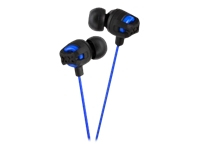 JVC Xtreme Xplosive In Ear Headphones - Blue HAFX101A