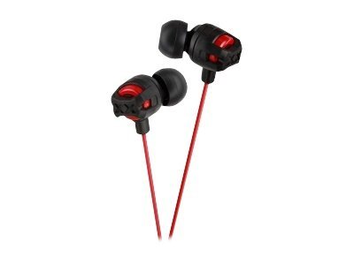 JVC Xtreme Xplosive Inner Ear Headphones - Red HAFX101R