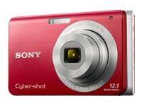 Cyber-shot® 12.1 Megapixel 3X Optical Zoom Digital Camera - Red