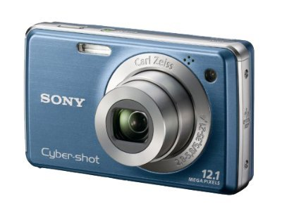 Cyber-shot® 12.1 Megapixel 4X Optical Zoom Digital Camera - Blue