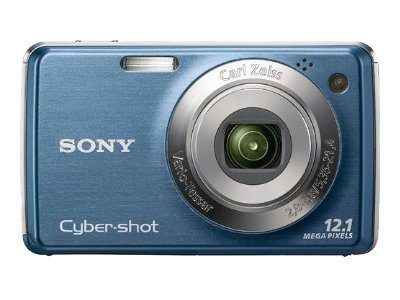 Cyber-shot® 12.1 Megapixel 4X Optical Zoom Digital Camera - Blue