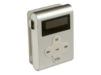 Mach Speed 4GB MP3 Player - CLD4SL - Silver