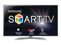 "Samsung 55"" Class 1080p 120Hz 3D LED Slim Smart HDTV- UN55ES6580 w/ 4 pairs of 3D glasses and a Skype camera"