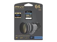 PNY 64GB Class 10 SDXC Memory Card