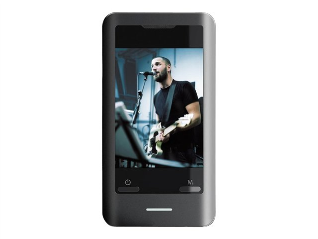 Coby 2.8 Touchscreen Video MP3 Player with Camera and Speaker MP8288G-SK