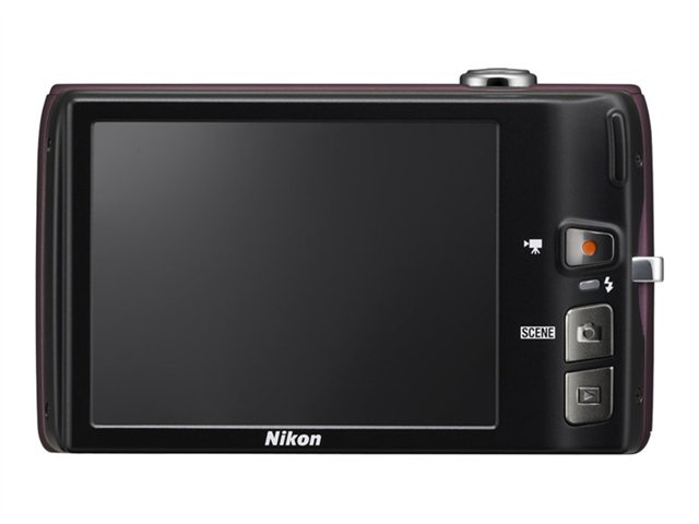Nikon CoolPix S4100 Digital Camera MD Kit - Plum