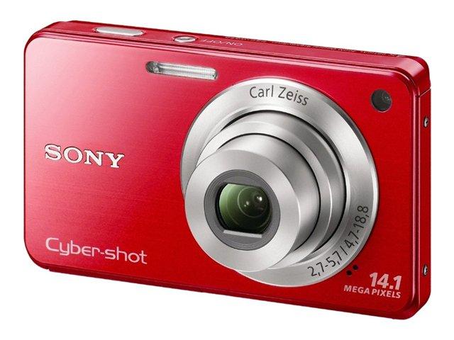 Sony Cyber-shot® Digital Camera W560- Red